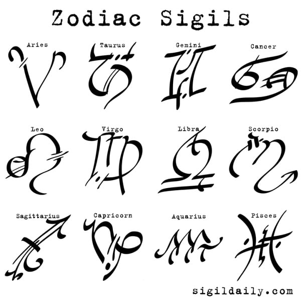 A Complete Guide to Wiccan Sigils [Making, Activating