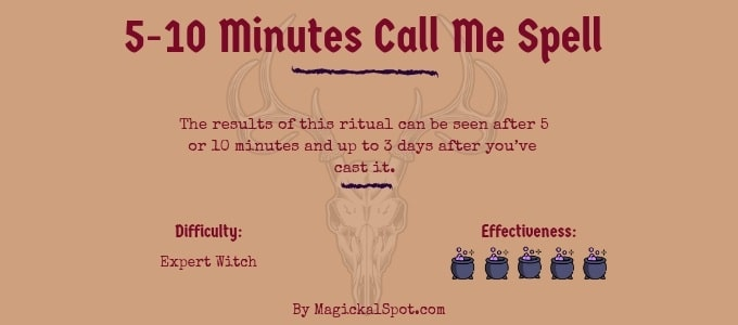 5-10 Minutes Call Me Spell