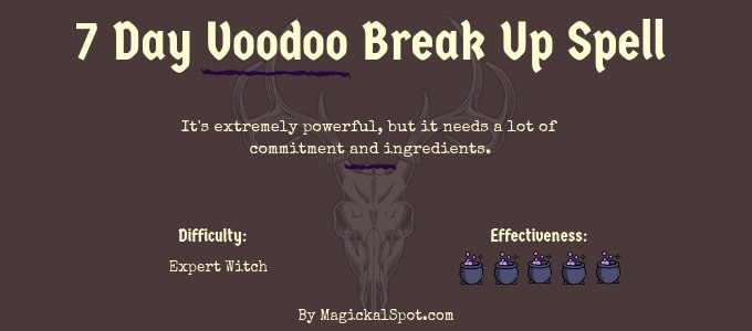 7 day voodo break up spell by Magickal Spot