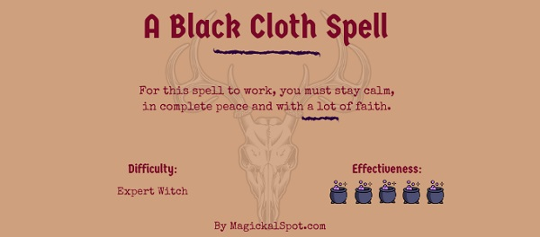 A Black Cloth Spell by MagickalSpot