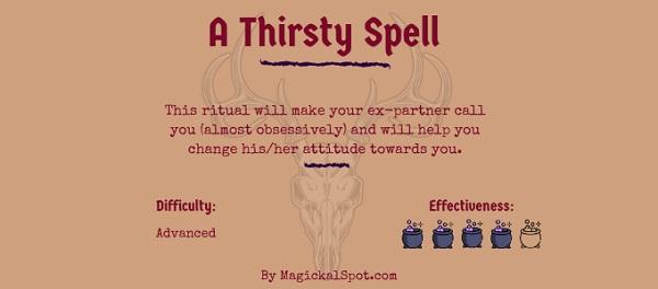 A Thirsty Spell by MagickalSpot