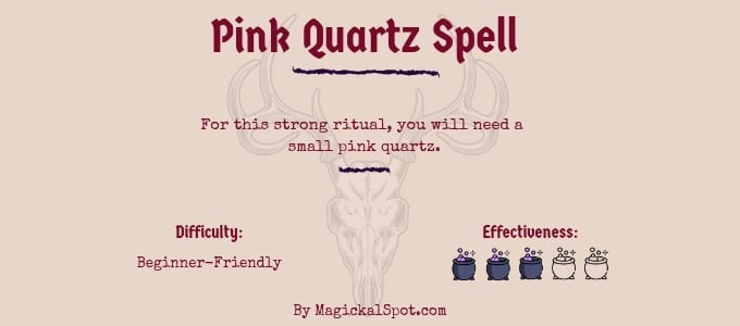 Pink Quartz Spell
