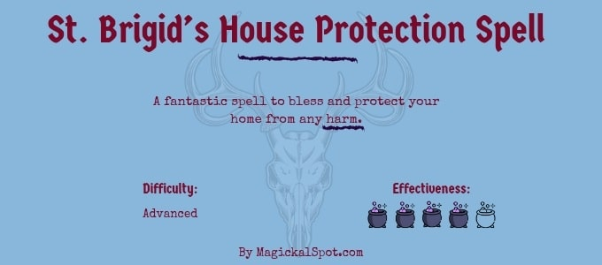 Saint Brigid House Protection Spell