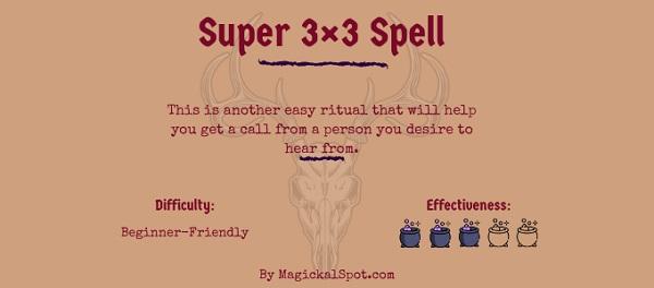 Super 3×3 Spell by MagickalSpot