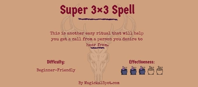 Super 3×3 Spell