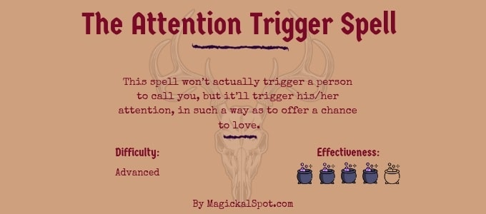 The Attention Trigger Spell