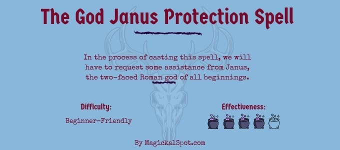 The God Janus Protection Spell