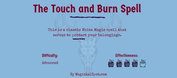 The Touch and Burn Spell
