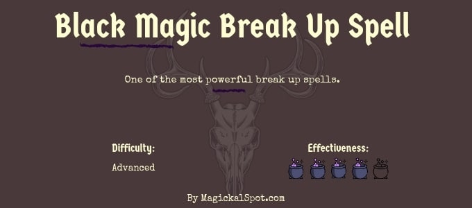 black magic break up spell by Magickal Spot