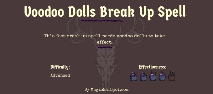 voodoo dools break up spell by Magickal Spot
