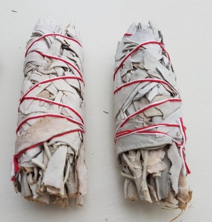 smudge cleansing amulet