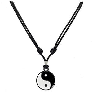 yin and yang neklace
