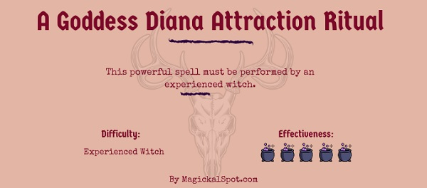 A Goddess Diana Attraction Ritual For Experienced Witches by MagickalSpot