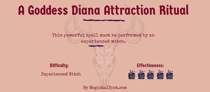 A Goddess Diana Attraction Ritual