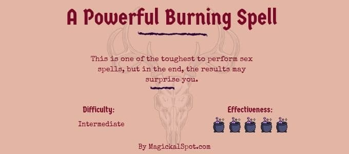 A Powerful Burning Spell