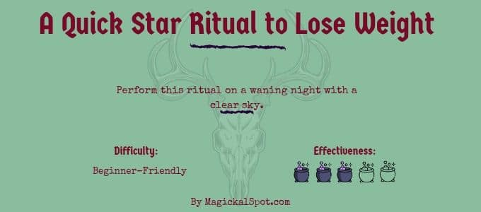 A Quick Star Ritual to Lose Weight