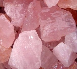 my pink quartz as amulet