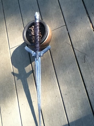 my second athame