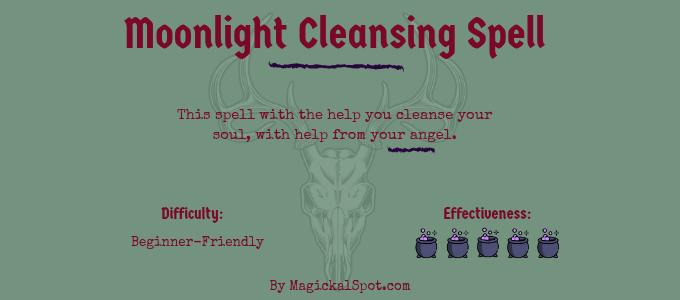 Moonlight Cleansing Spell