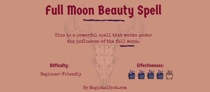 Full Moon Beauty Spell