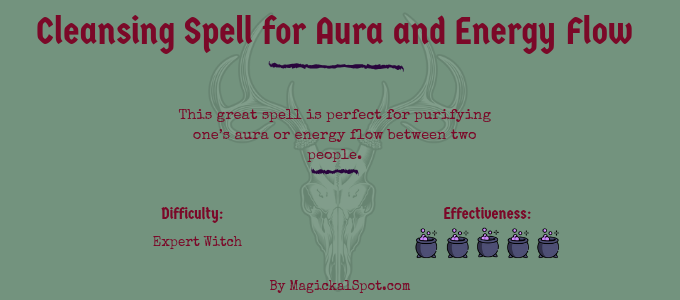 Cleansing Spell for Aura and Energy Flow