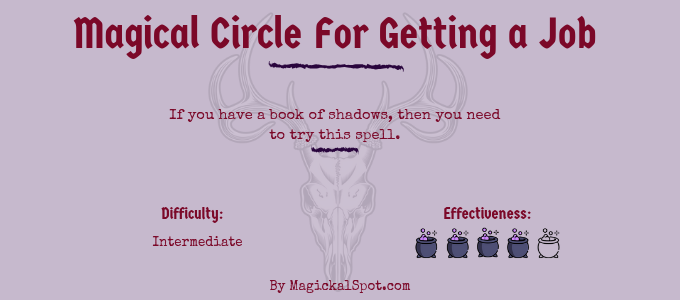 Magical Circle For Getting a Job
