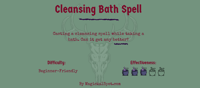 Cleansing Bath Spell