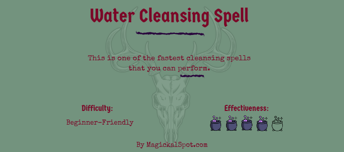 Water Cleansing Spell