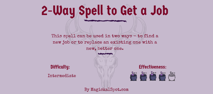 2-Way Spell to Get a Job