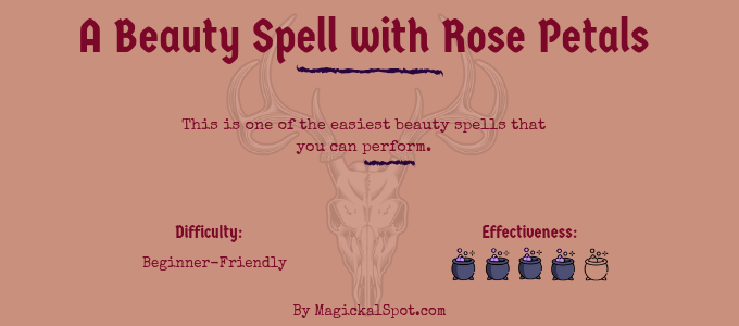 A Beauty Spell with Rose Petals