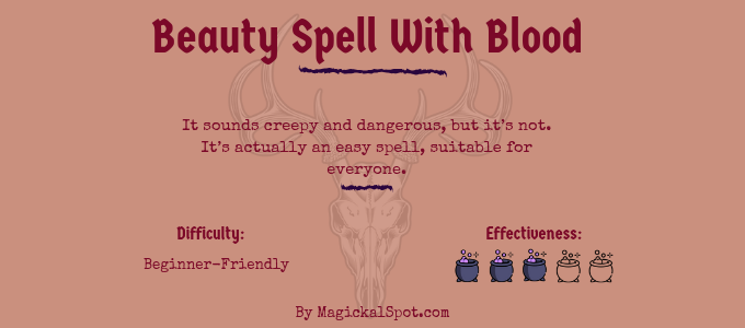 Beauty Spell With Blood