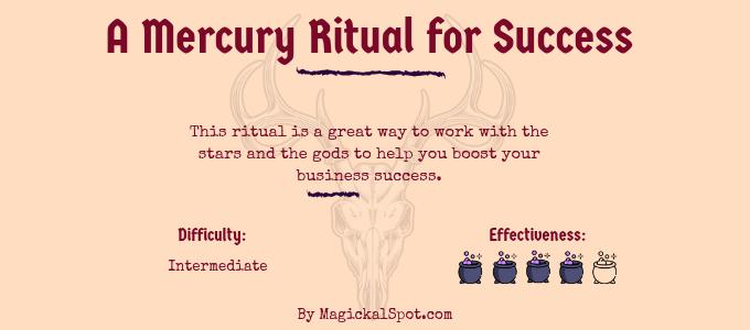 A Mercury Ritual for Success