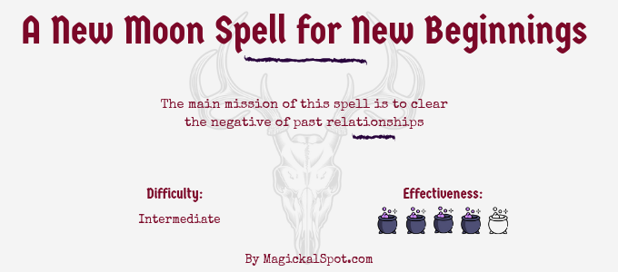 A New Moon Spell for New Beginnings