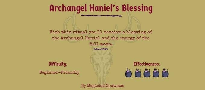 Archangel Haniels Blessing