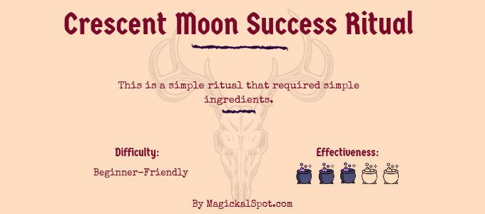 Crescent Moon Success Ritual