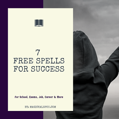 7 Free Spells for Success [For School, Exams, Job, Career & More]