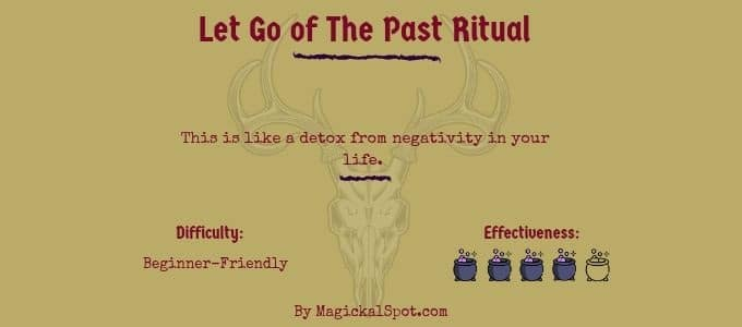 Let Go of The Past Ritual