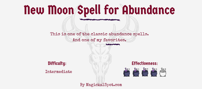 New Moon Spell for Abundance