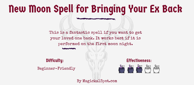New Moon Spell for Bringing Your Ex Back