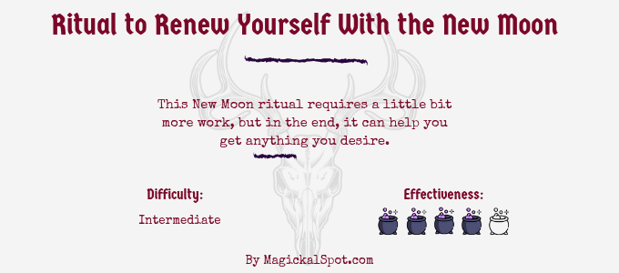 Ritual to Renew Yourself With the New Moon
