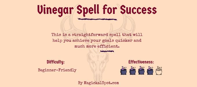 Vinegar Spell for Success