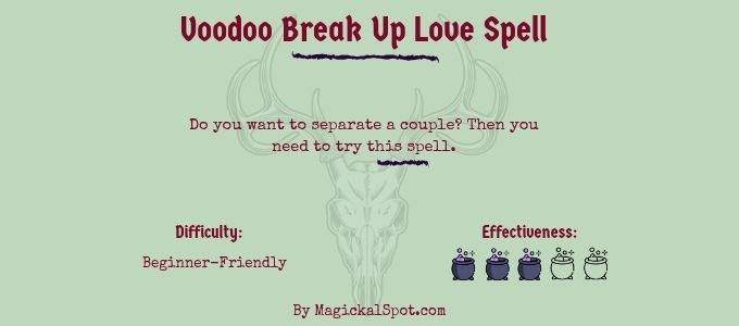 Voodoo Break Up Love Spell