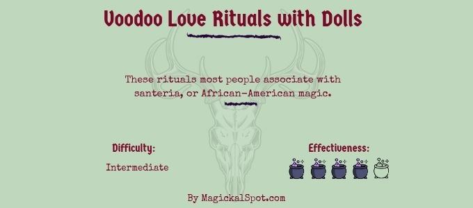 Voodoo Love Ritual with Dolls