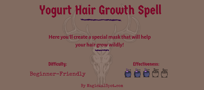 Yogurt Hair Growth Spell
