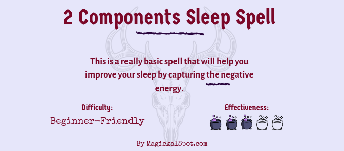 2 Components Sleep Spell