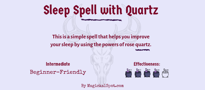 Sleep Spell with Quartz