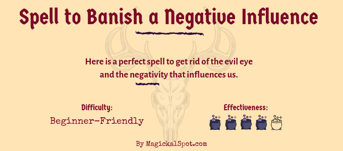 Spell to Banish a Negative Influence