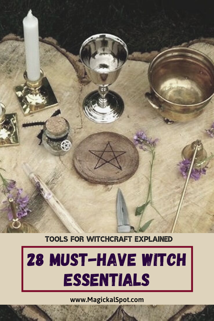28 Must-Have Witch Essentials by MagickalSpot