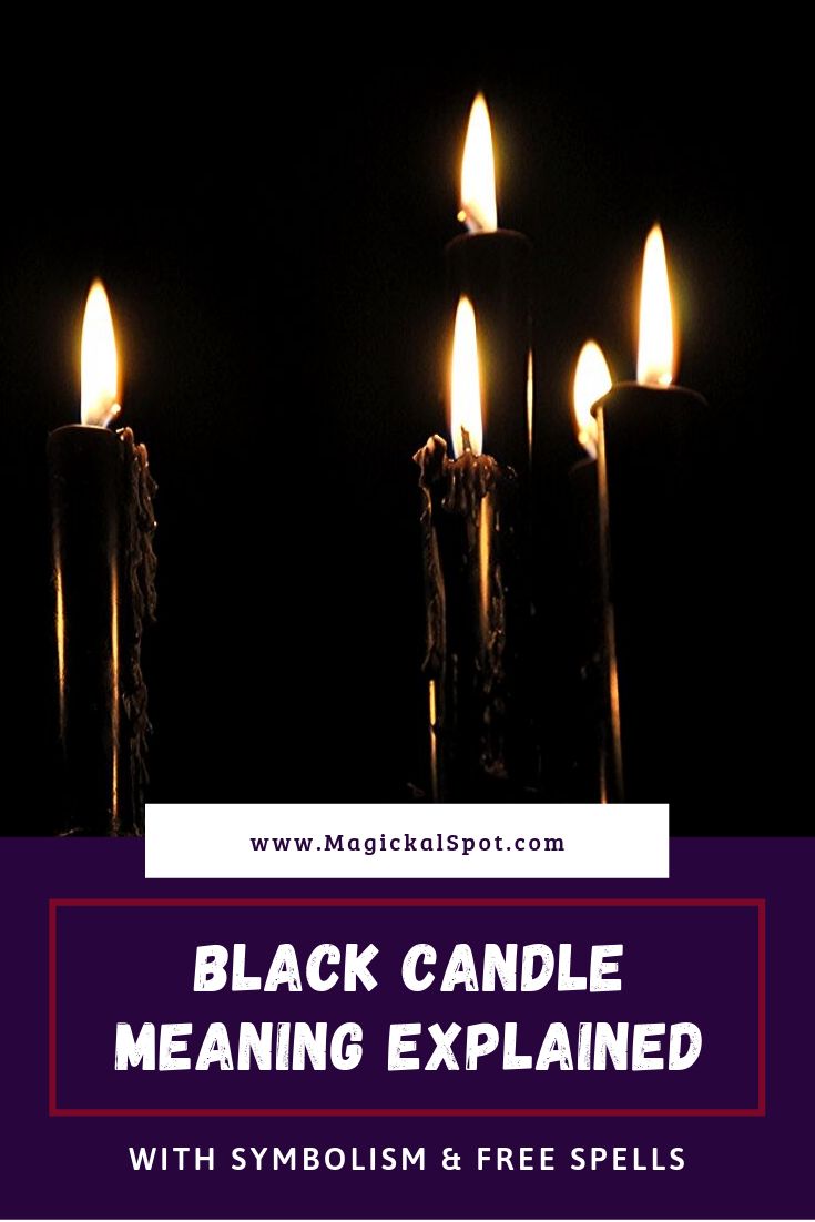 Black Candle Meaning Explained by MagickalSpot