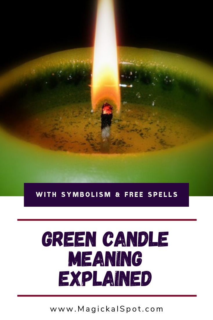 Green Candle Meaning by MagickalSpot
